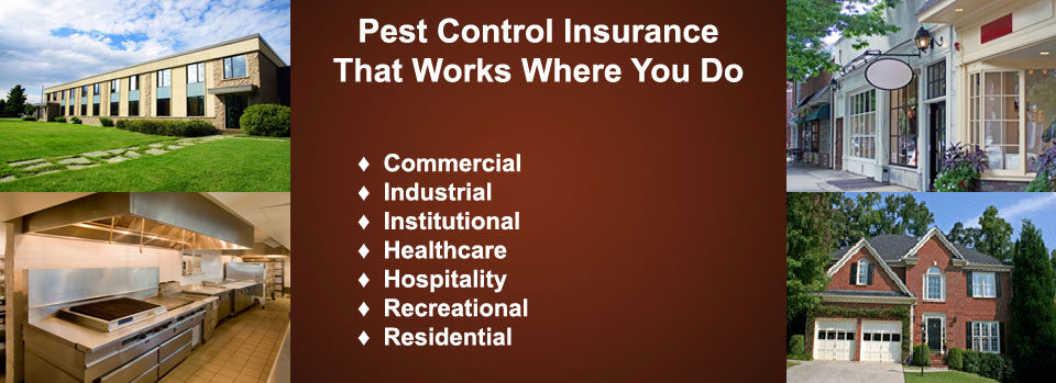 Residential & Commercial Pest Control Insurance